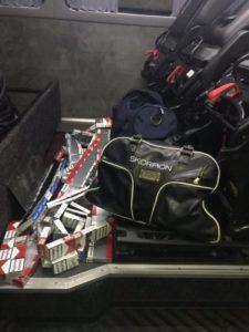 На КПП «Тиса» затримали водія з контрабандою цигарок