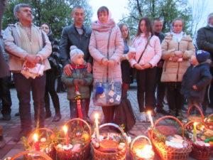В Рахові освятили паски (ФОТО)