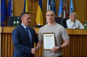 Мер Ужгорода нагородив подяками кращих спортсменів міста (ФОТО)