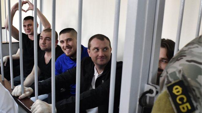 До вересня Росія може видати Україні полонених моряків