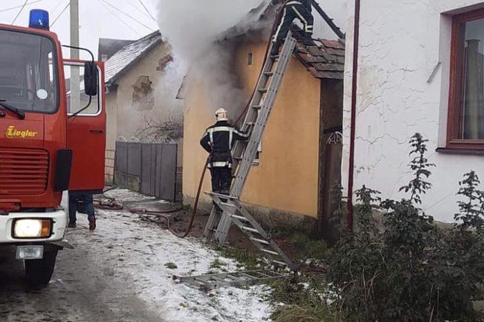 На Закарпатті у будинку, де була дитина, спалахнув вогонь