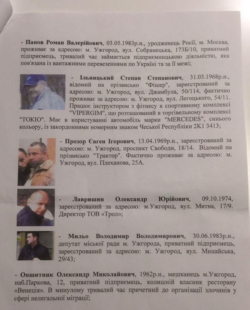 В Ужгороді проводять обшуки у помешканнях депутата Михайла Чурила та Андрія Стрижака