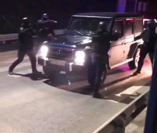 На Закарпатті затримали членів угрупування львівського кримінального авторитета (ВІДЕО)