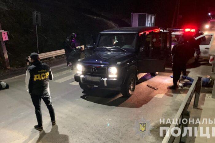 На Закарпатті поліція провела спецоперацію для затримання членів злочинного угруповання