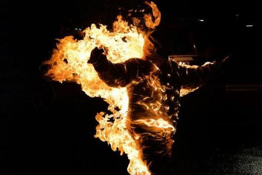 На Закарпатті чоловік під час сварки підпалив свого друга