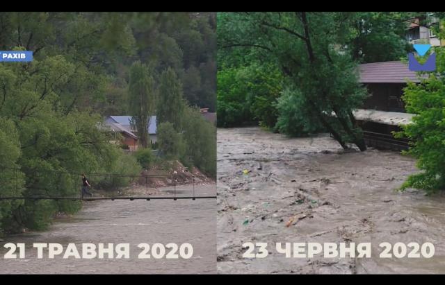 Полігон на воді: в результаті паводку на Закарпатті річки заповнені сміттям (ВІДЕО)