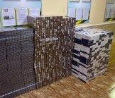 22 тисячі пачок сигарет залишили контрабандисти біля кордону з Румунією