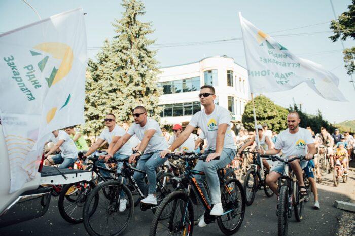 У Виноградові пройшов Перший сімейний велозаїзд (ФОТО)