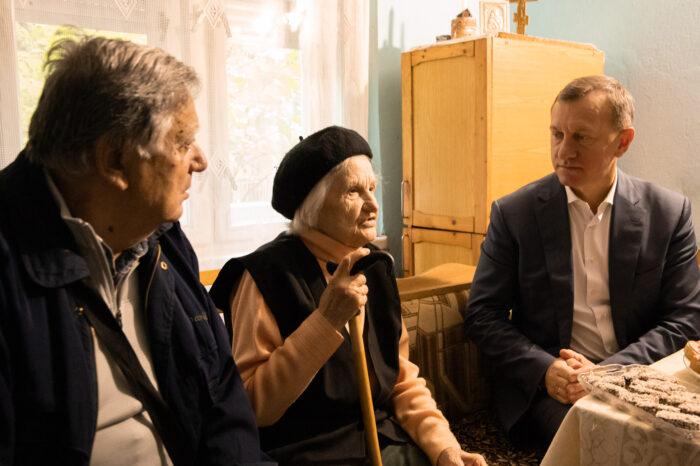Почесна громадянка Ужгорода Ганна Задорожна святкує сьогодні 90-річчя