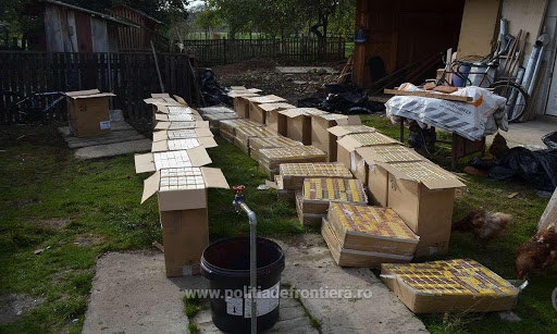 У Румунії під час обшуку виявили 15 000 пачок сигарет з Рахівщини