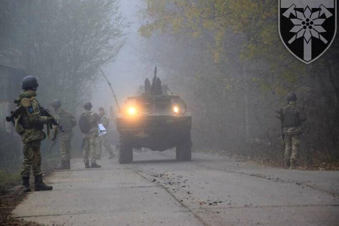 Військові навчання: 128-ма бригада патрулює населені пункти Закарпаття