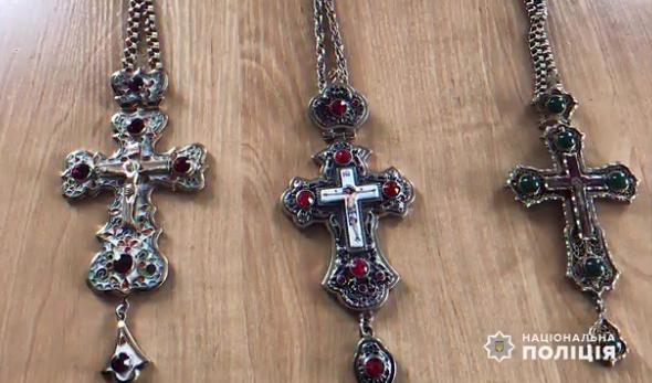 В Ужгороді з церкви вкрали позолочені хрести