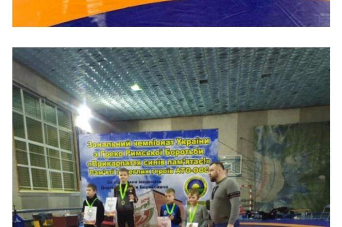 Тячівські борці завоювали 5 бронзових нагород на зональному Чемпіонаті України з греко-римської боротьби