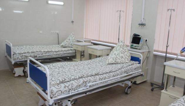 На Закарпатті ліжка для хворих на коронавірус зайняті на 62,7 %