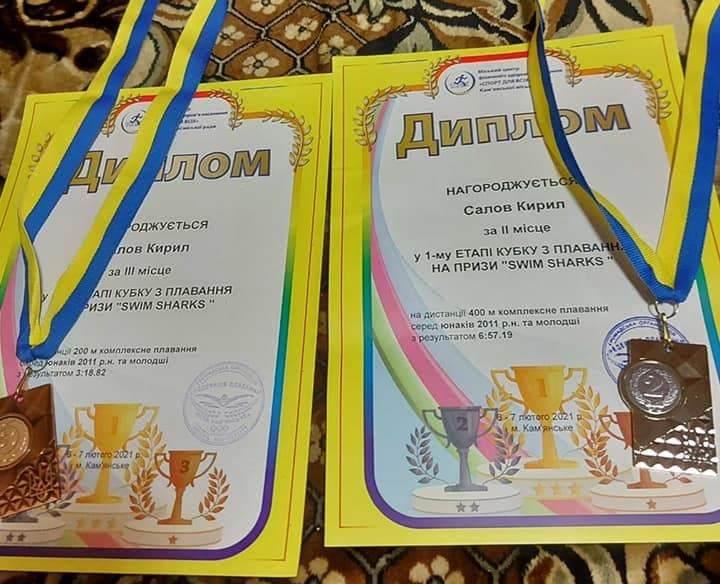 Мукачівські спортсмени вибороли призові місця на кубку SWIM SHARKS