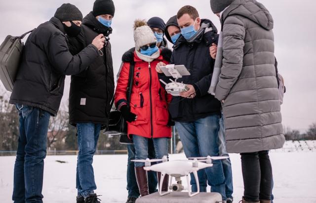 У Сваляві за допомогою дрону шукатимуть стихійні сміттєзвалища і усуватимуть їх