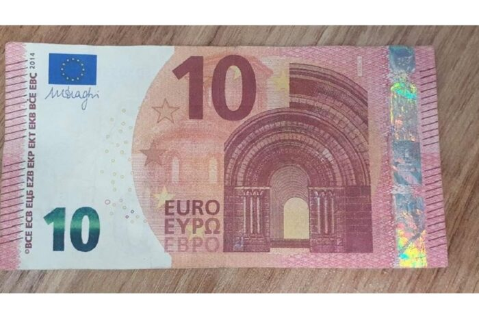 Неповнолітня мукачівка намагалася обміняти фальшиві 10 євро