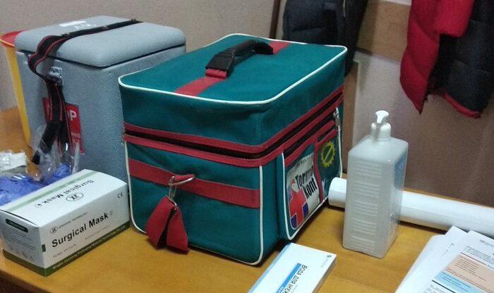 В Ужгороді розпочалася підготовка мобільних бригад з вакцинації від COVID-19 (ФОТО)