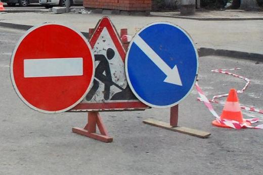 До уваги водіїв: на одному з перехресть Ужгорода ремонтні роботи