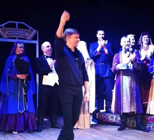 Закарпатський режисер Михайло Фіщенко поставив грузинську комедію в Києві