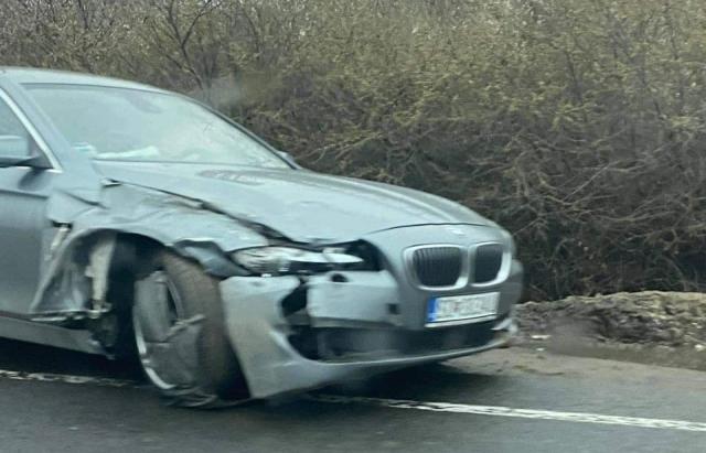 ДТП в Ужгороді: не розминулися BMW та VW