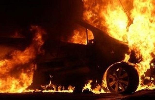На Рахівщині пожежа понищила Daewoo Lanos