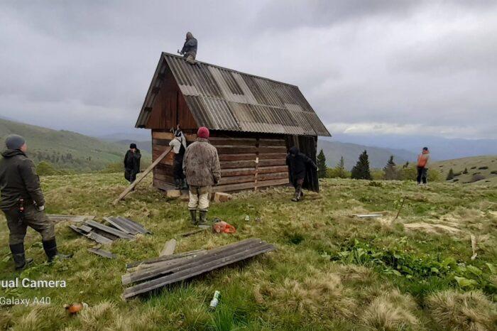 На Рахівщині з'явився ще один мисливський будинок, який буде служити прихистком, як для мисливців та туристів