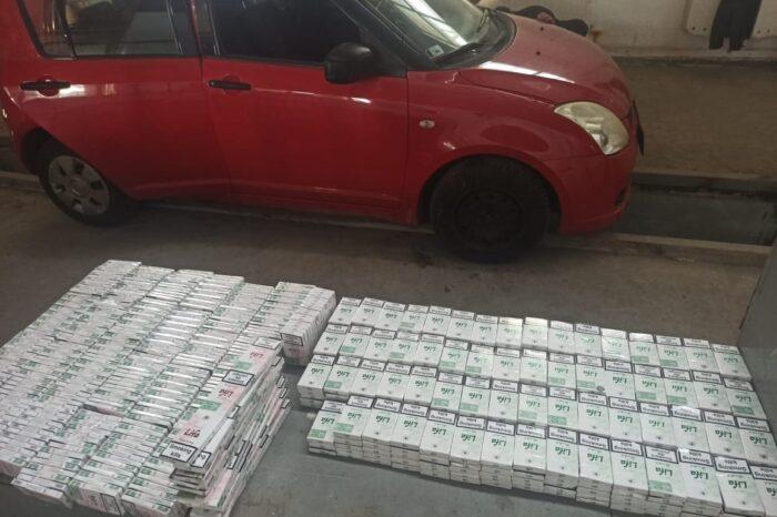 """700 пачок сигарет було знайдено в легковику іноземця на КПП """"Тиса"""" (ФОТО)"""