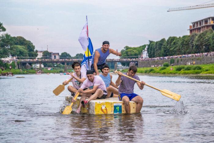 У липні на Ужі відбудеться традиційна «Ужгородська регата»