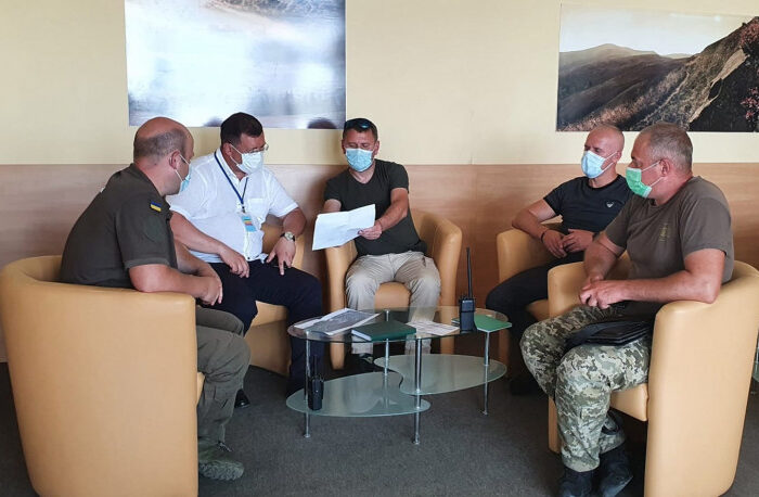 В ужгородському аеропорту силовики проводять навчання
