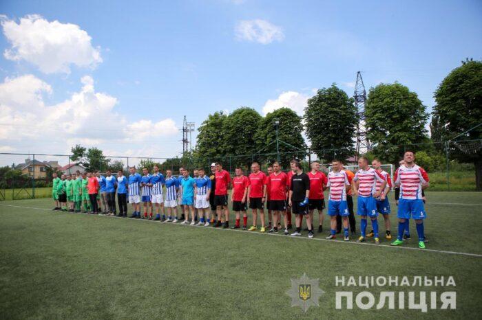 В Ужгороді пройшли змагання з мініфутболу серед поліціянтів (ВІДЕО)