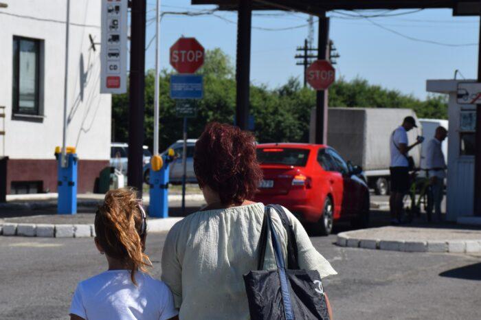 На Закарпатті жінка намагалась незаконно перетнути кордон з двома малолітніми дітьми