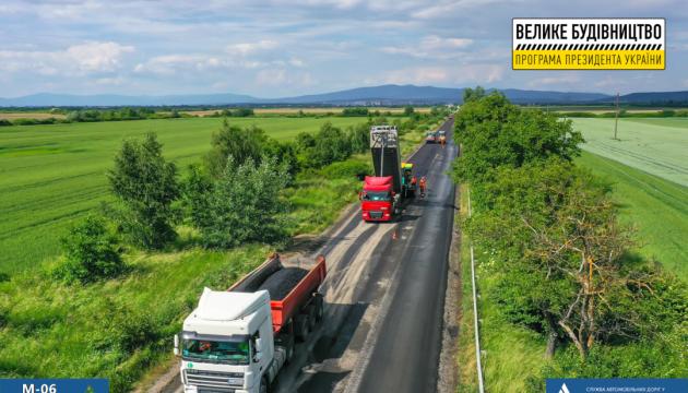 На Закарпатті ремонтують відразу чотири прикордонні дороги (ФОТО)