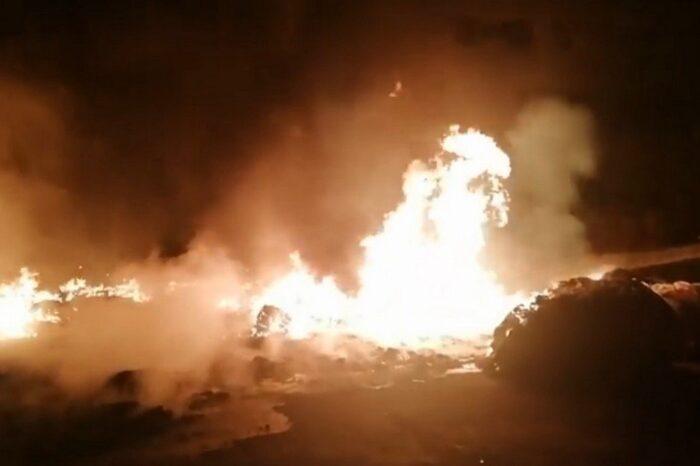 Вночі на Закарпатті вирувала пожежа  (ВІДЕО)