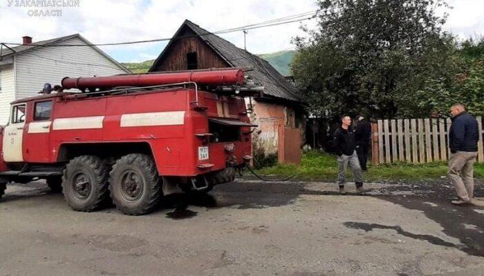 Під час пожежі загинула 84-річна жителька Рахівщини